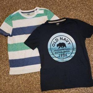 3/$12 Old Navy shirts